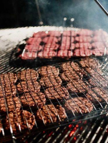 Hamburger alla griglia